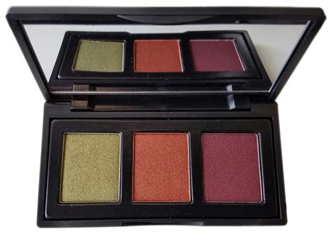 caked cosmetics new rustic trio pressed eyeshadow palette