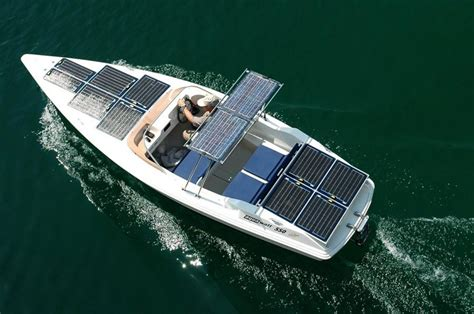 solar powered boat for sale yachts boats aquawatt electric yachts electric boats