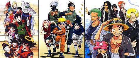 Naruto Dragonball One Piece Film   sondaggio meglio naruto dragon ball o one piece