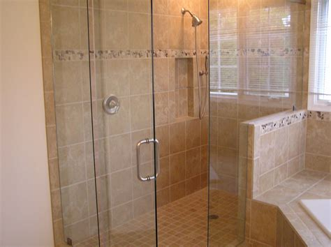 Bathroom Tile Ideas For Showers Tile Bathroom Shower Ideas Decobizz