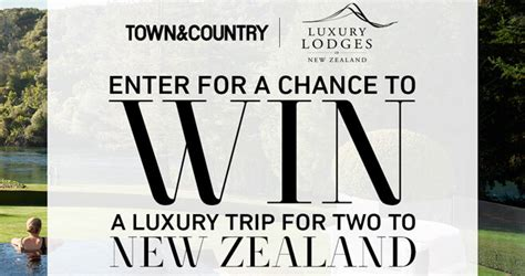 town country new zealand sweepstakes - Town Country Sweepstakes