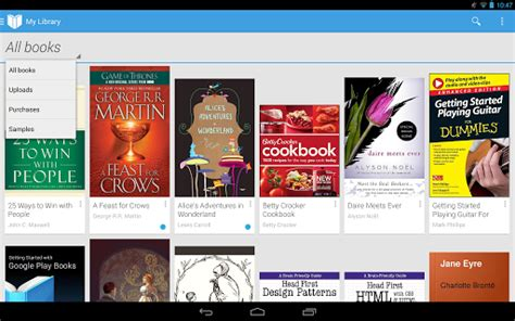 book reader apps google play books for android ios updated with new cloud