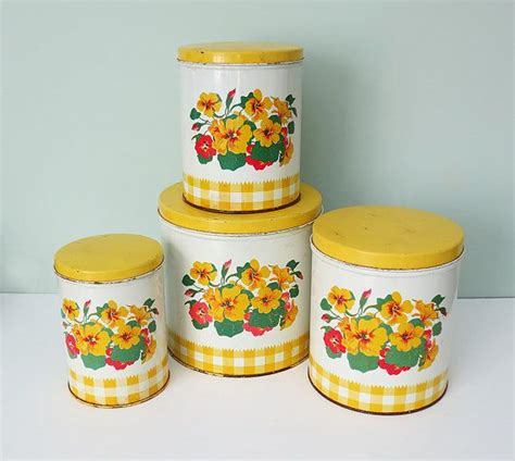 129 best yellow canisters images on pinterest vintage kitchen 452 best images about vintage bread box cake carriers