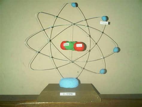 como construir una maqueta de un atomo de aluminio maqueta atomo proyecto ciencias escolar pinterest