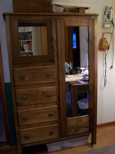 antique armoire with mirror and drawers 10 best images about chifferobe project on