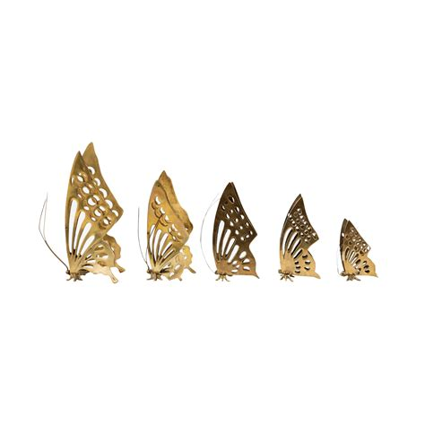 butterfly home decor accessories 12 pcs 3 color