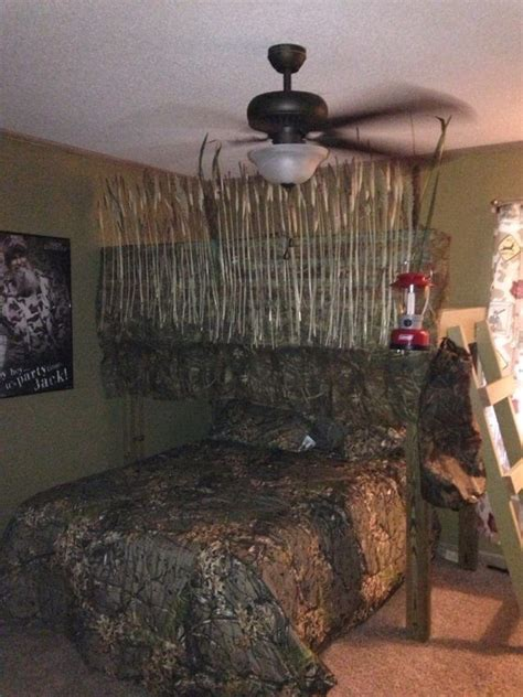 hunting bedroom ideas duck blind loft bed ev buddy happy happy happy