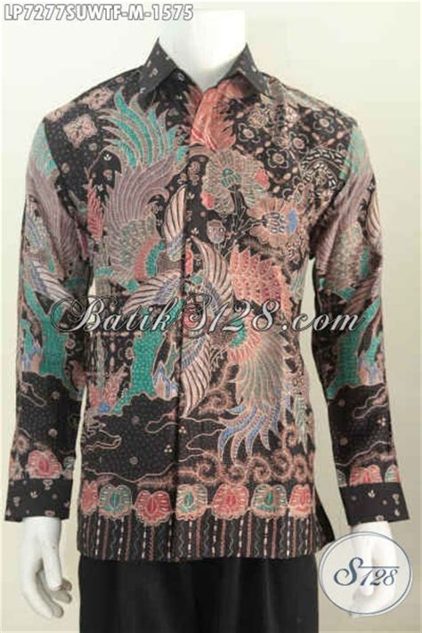 Hem Clasic Twis Atasan Baju Wanita baju kemeja batik premium bahan hem batik tulis lengan panjang furing untuk pejabat