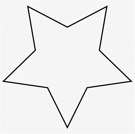 printable templates of stars large star template to print cliparts co