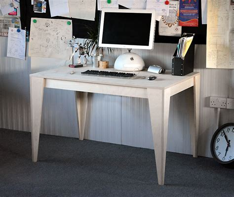 Made To Measure Deskdesigned In Ply Plywood Office Desk