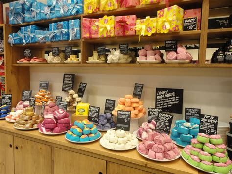 Lush Handmade - millennials flocking to lush handmade cosmetics