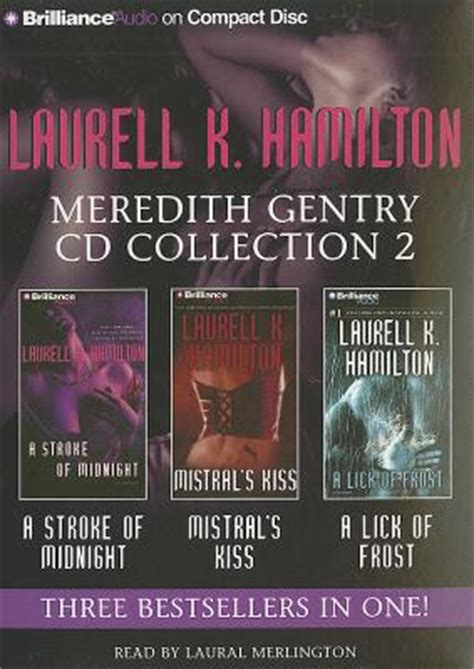 Laurell K Hamilton Meredith Gentry Cd Collection 2 A