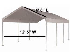 12 X 20 Canopy Replacement by 12 X 20 Valance Tarp Cover Replacement Canopy Shade Ebay