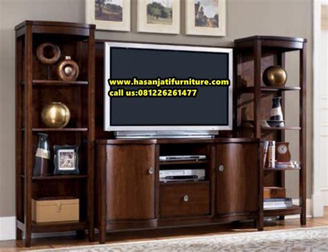 Furniture Lemari Tv Lemari Tv Minimalis Bufet Tv Kayu Jati Hasan Jati Furniture
