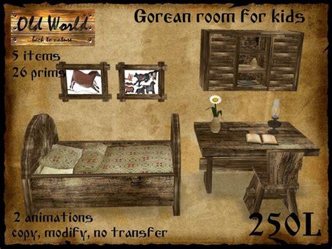 medieval bedroom set second life marketplace medieval bedroom set for children kids old world