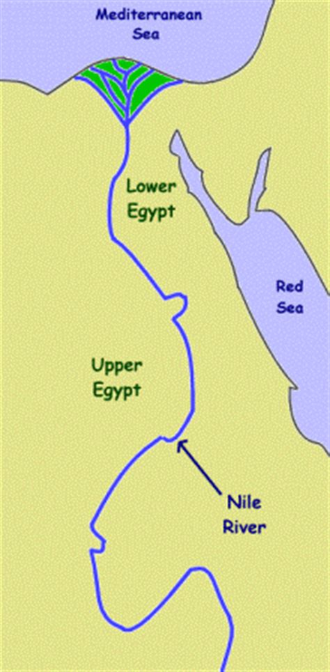 nile river on a map ancient history for geography and the nile