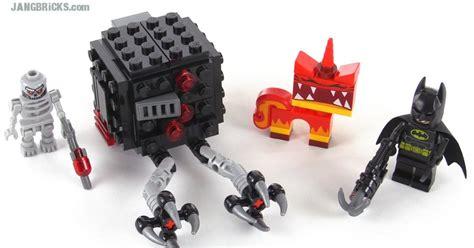 Lego Angry Minifigure Dari Set 70817 lego batman angry attack review set 70817