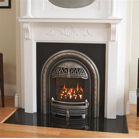 foyer valor valor portrait arch gas zero clearance fireplace