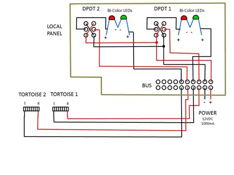 dcc bdl 168 wiring diagram dcc wiring ground throws wiring