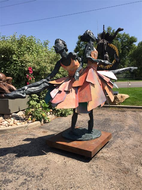 Columbine Gardens Monument Co by In The Wings By Dedecker And Alyson Kinkade Painted