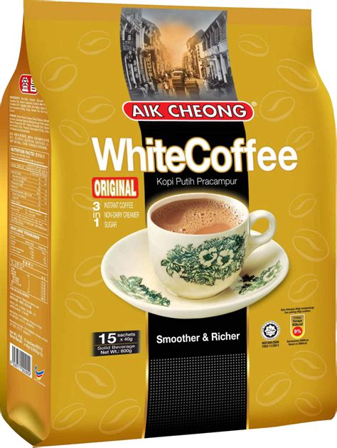 Teh Tarik Aik Cheong Original aik cheong 3 in 1 white coffee original alliancejsc
