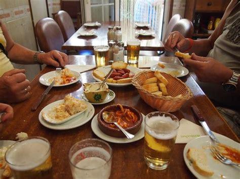 best tapas bars in arenal ein teil unserer tapas picture of restaurante bar