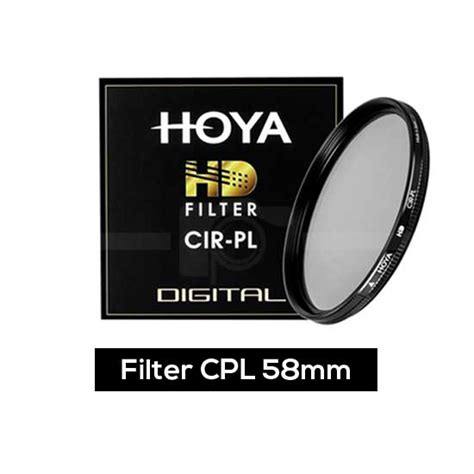 Somita Uv Filter 58mm Promo hoya hd filter cpl 58mm harga dan spesifikasi