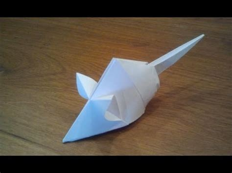 How To Make An Origami Mouse - how to make an origami mouse tetsuya gotani