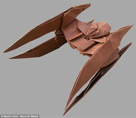 Origami Vulture - origami vulture droid fighter style guide