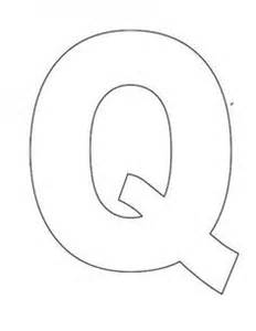 Letter Q Template by 1000 Images About Letter Of The Week Letter Review On