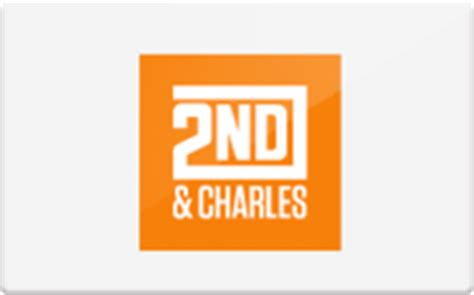sell 2nd charles gift cards raise - 2nd And Charles Gift Card