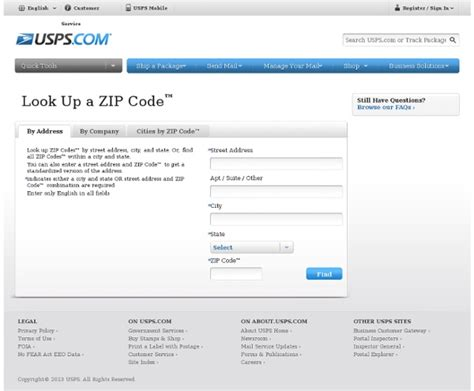 Usps Finder Usps Zip Code Lookup Elhouz