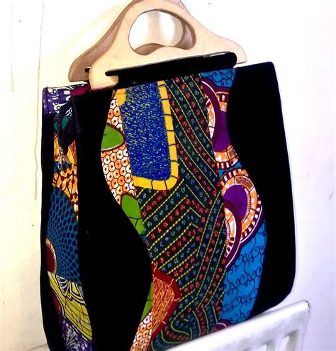 Handmade Cloth Purses - ankara handbag handmade fabric bag kente bag clutch