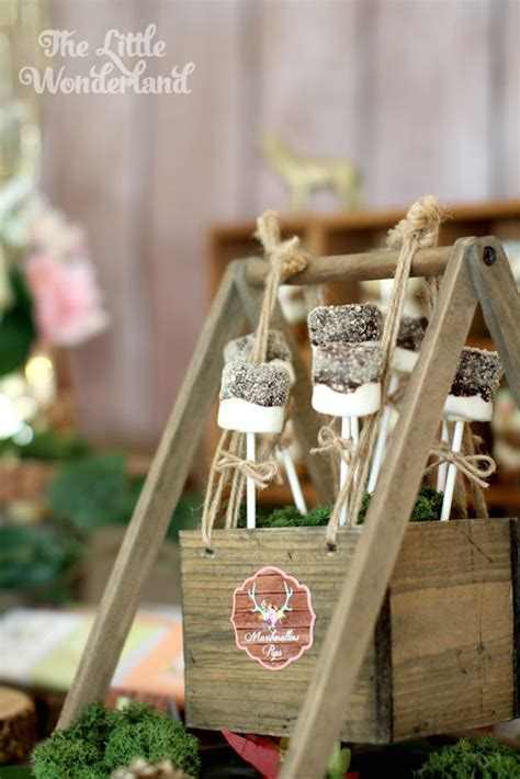 Kara's Party Ideas Whimsical Woodland Camping Party via