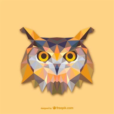 Burung Hantu Owl Ukiran Kayu 1 Set 3 Pcs Asli Handmade triangle owl design vector free