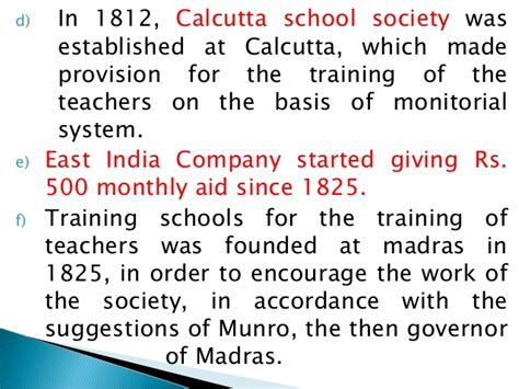 Systems In Business Mba Madras by History Of Education Pptx