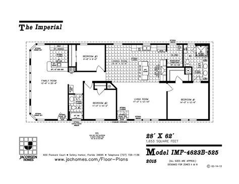imlt 46412b mobile home floor plan ocala custom homes imp 4623b 525 mobile home floor plan ocala custom homes