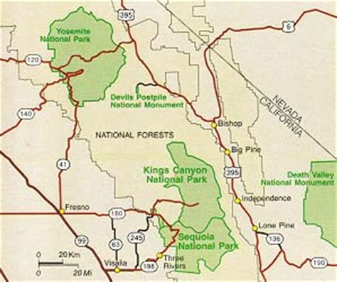 sequoia national park map national park sequoia on sequoia national park california and image