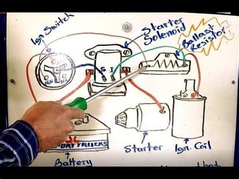 how ballast resistor works how the ballast resistor works