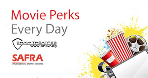 shaw new year promotion safra shaw theatres 1 for 1 weekend tickets