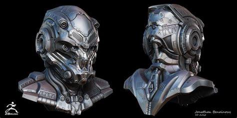 helmet design zbrush 14 best images about sci fi helmet on pinterest artworks