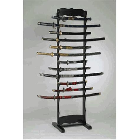 martial arts weapons stands sai stand kibudo stands