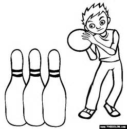 printable bowling images coloring pages for kids bowling coloring pages