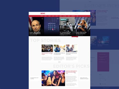news portal website template free psd download download psd news and magazine style website template psd download