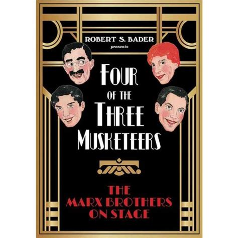 the animated marx brothers hardback books four of the three musketeers the marx brothers on stage