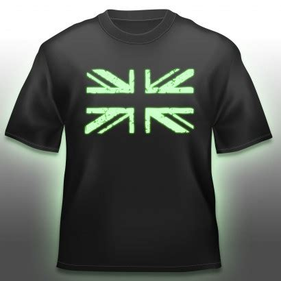 Tshirt Robotic Glow In The glow in the union t shirt
