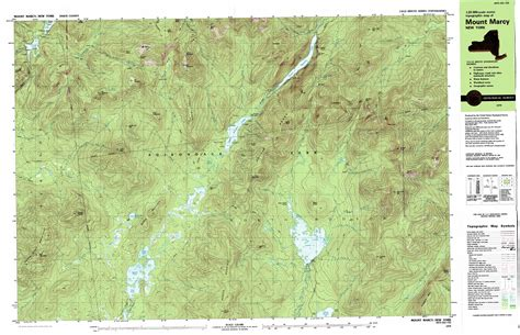topo map dix mountain topographic map ny usgs topo 44073a7