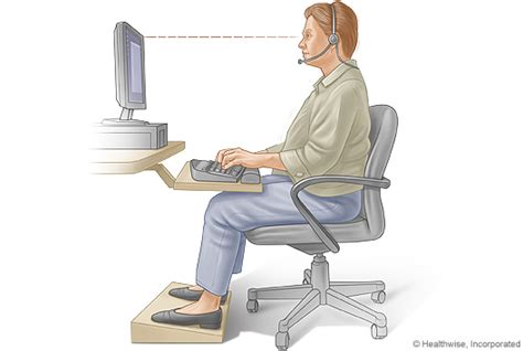 most comfortable sitting position proper sitting posture for typing