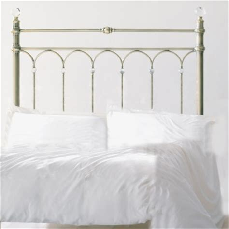 krystal headboard krystal antique brass king size headboard by bentley designs