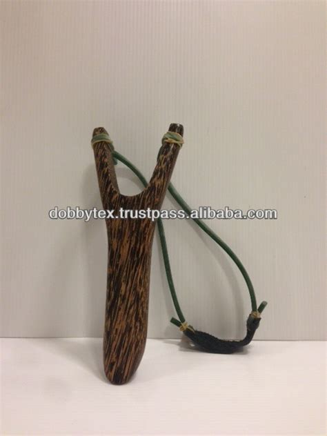 Handmade Wooden Slingshots - thailand handmade wooden slingshot with rubber band view